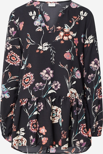 JACQUELINE de YONG Bluse in pink / schwarz, Produktansicht