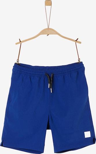 s.Oliver Badehose in blau, Produktansicht