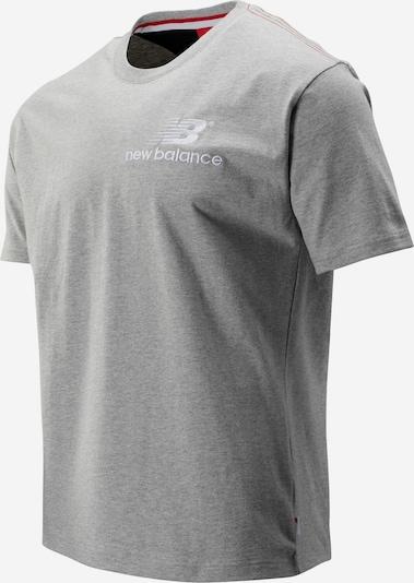 new balance T-Shirt ' MT93523 ' in hellgrau, Produktansicht