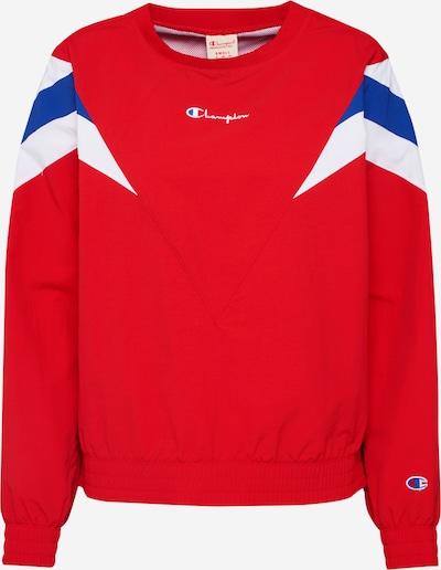 Champion Reverse Weave Sweatshirt in blau / rot / weiß, Produktansicht
