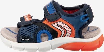 myToys-COLLECTION Sandale in blau / dunkelorange, Produktansicht