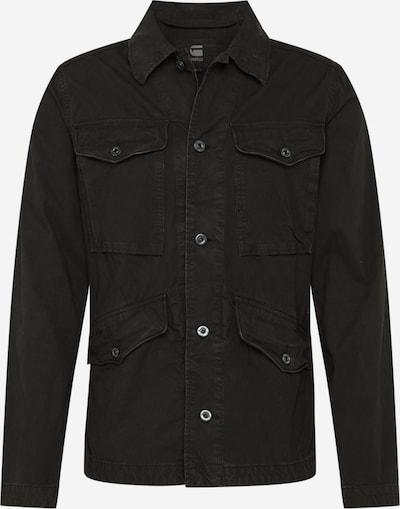 G-Star RAW Jacke 'Vodan Worker Overshirt' in schwarz, Produktansicht
