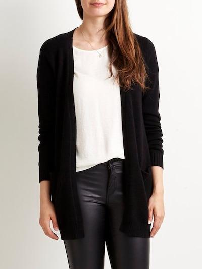 VILA Kardigan 'Ril' w kolorze czarnym, Podgląd na modelu(-ce)