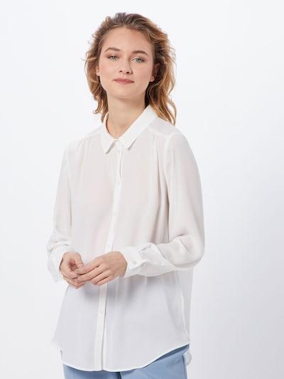 VILA Bluzka w kolorze białym, Podgląd na modelu(-ce)
