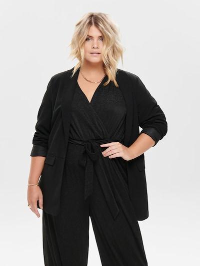 ONLY Carmakoma Blazer in schwarz, Modelansicht