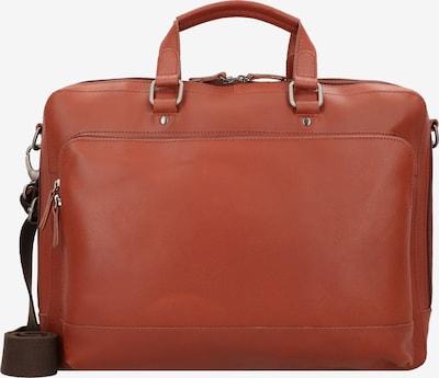 LEONHARD HEYDEN Porte-documents 'Dakota' en cognac, Vue avec produit