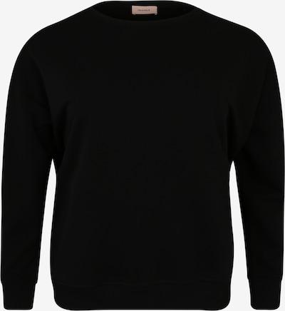 TRIANGLE Sweat-shirt en noir, Vue avec produit