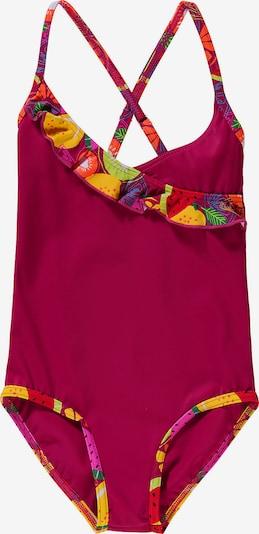 FASHY Badeanzug in mischfarben / rubinrot, Produktansicht