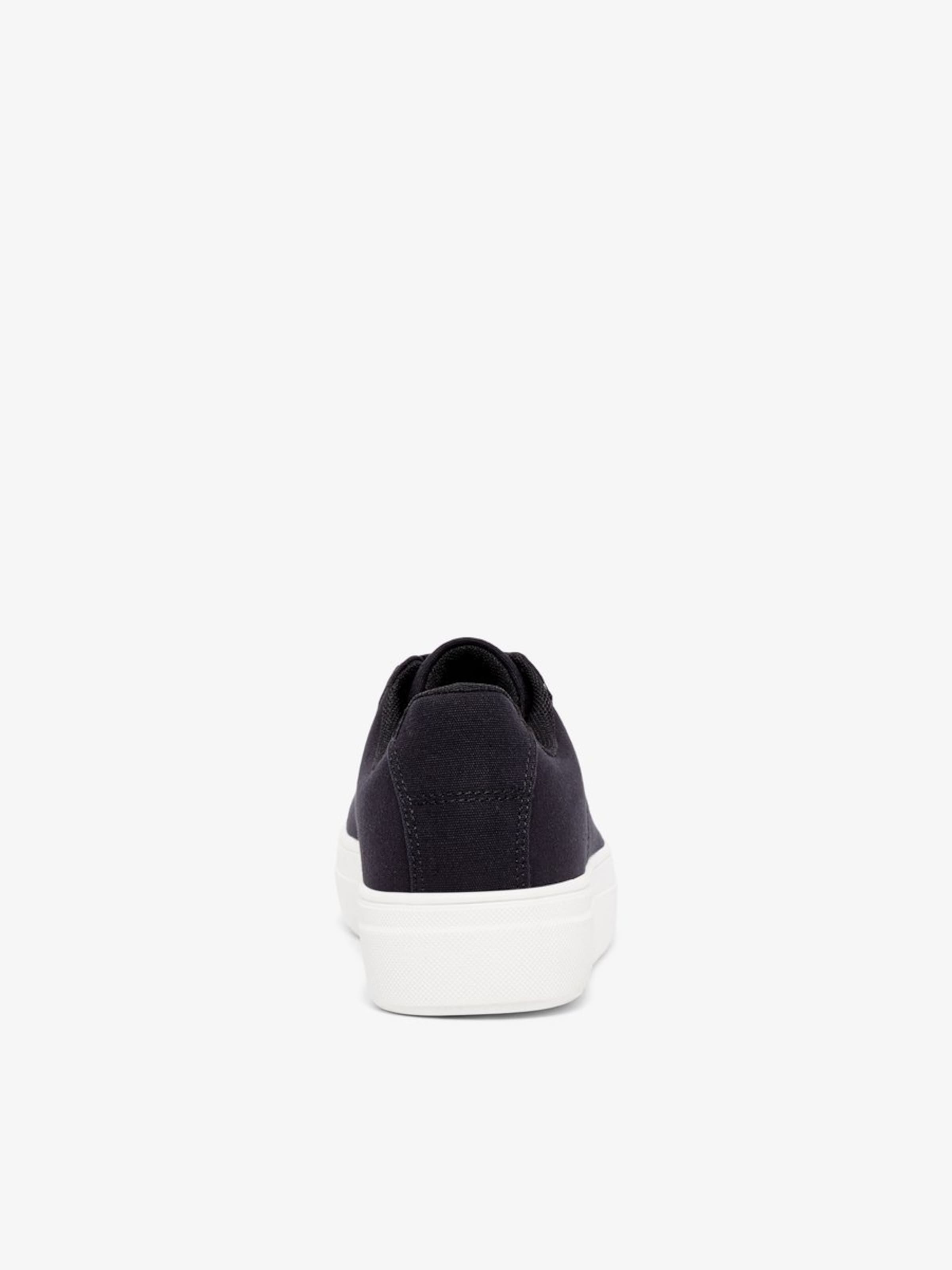 Baskets Noir 'jacquard' En Bianco Basses EH2WID9