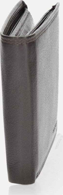 SAMSONITE Herren Geldbörse Querformat 78019 mit Klappfach und Reißverschlussfach Leder 12,5 cm