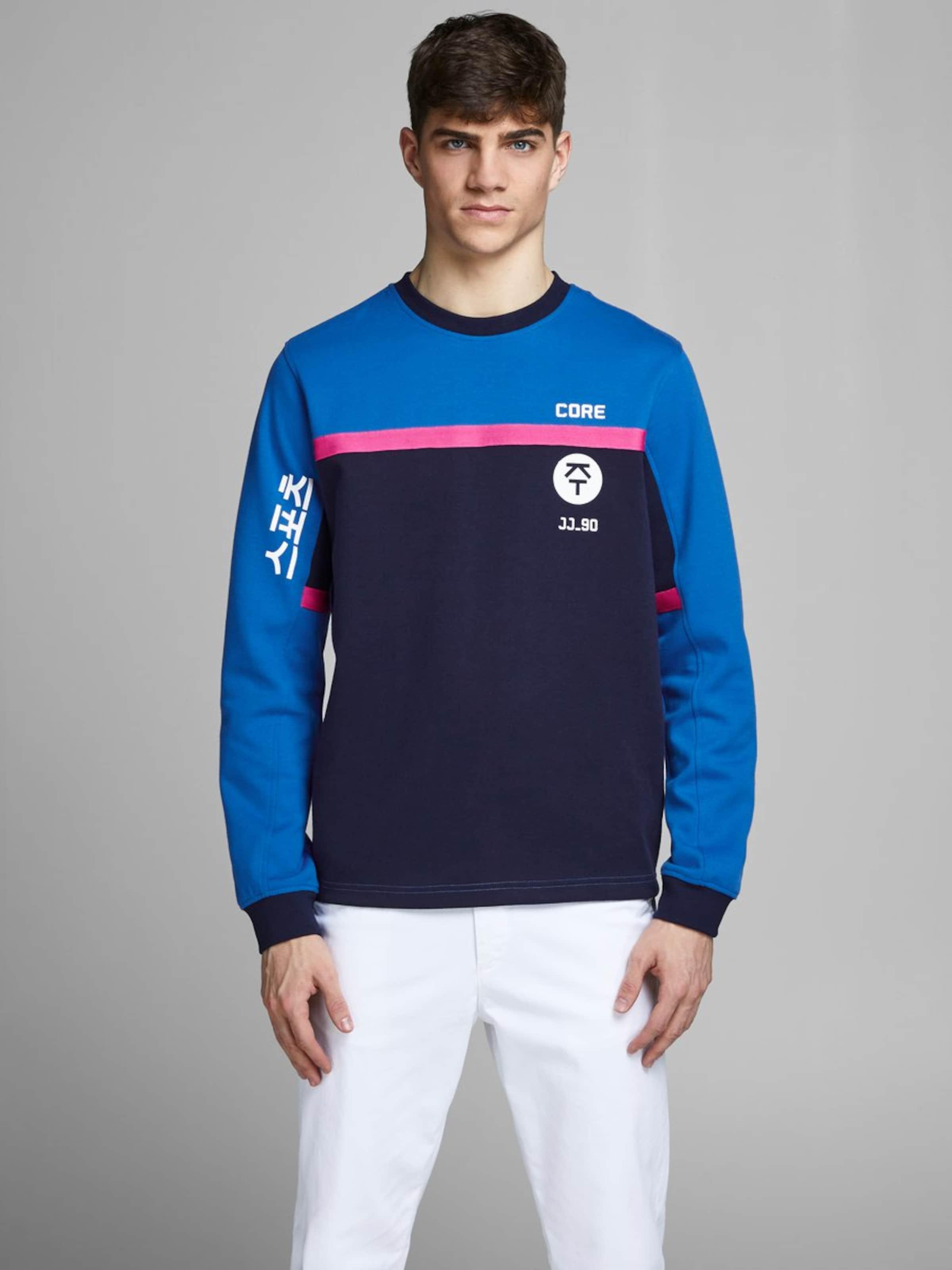 Jones In In Blau Blau Sweatshirt Sweatshirt Jackamp; Jackamp; Jackamp; Jones PXTuiwZlOk