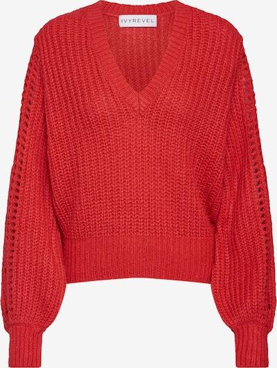Megztinis 'Pointelle' iš IVYREVEL , spalva - raudona: Vaizdas iš priekio