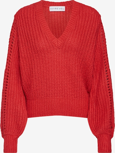 IVYREVEL Pulover 'Pointelle' | rdeča barva: Frontalni pogled