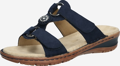 ARA Pantolette 'Hawaii' in dunkelblau, Produktansicht