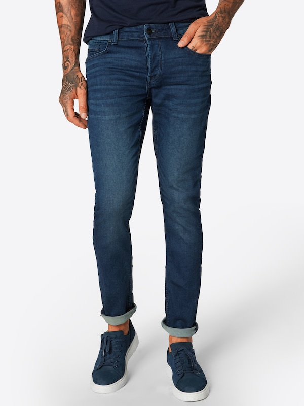 Only & Sons Jeans 'onsLOOM JOG DK BLUE PK 0431 NOOS' in blue denim, Modelansicht