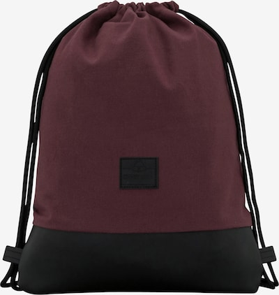 Johnny Urban Turnbeutel 'Luke' in rot / schwarz, Produktansicht