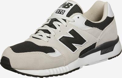 new balance Sneaker 'ML570' in beige / grau / schwarz / weiß: Frontalansicht
