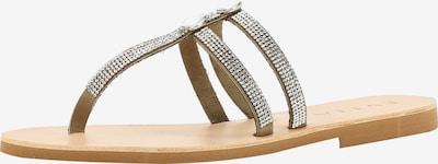 EVITA Sandale in dunkelbeige, Produktansicht