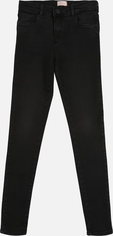 KIDS ONLY Jeans 'KONRACHEL BLACK DNM JEANS NOOS' in black denim, Produktansicht