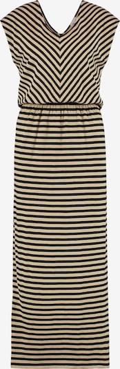 Juna Lane Sweatkleid im Beach-Look in beige / schwarz, Produktansicht