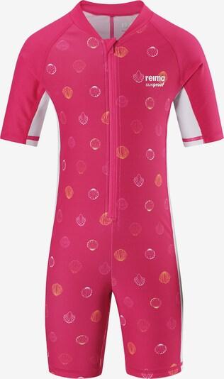 Reima Schwimmanzug 'Galapagos' in hellorange / pink / weiß, Produktansicht