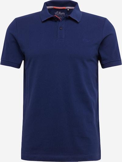 s.Oliver Poloshirt in marine, Produktansicht