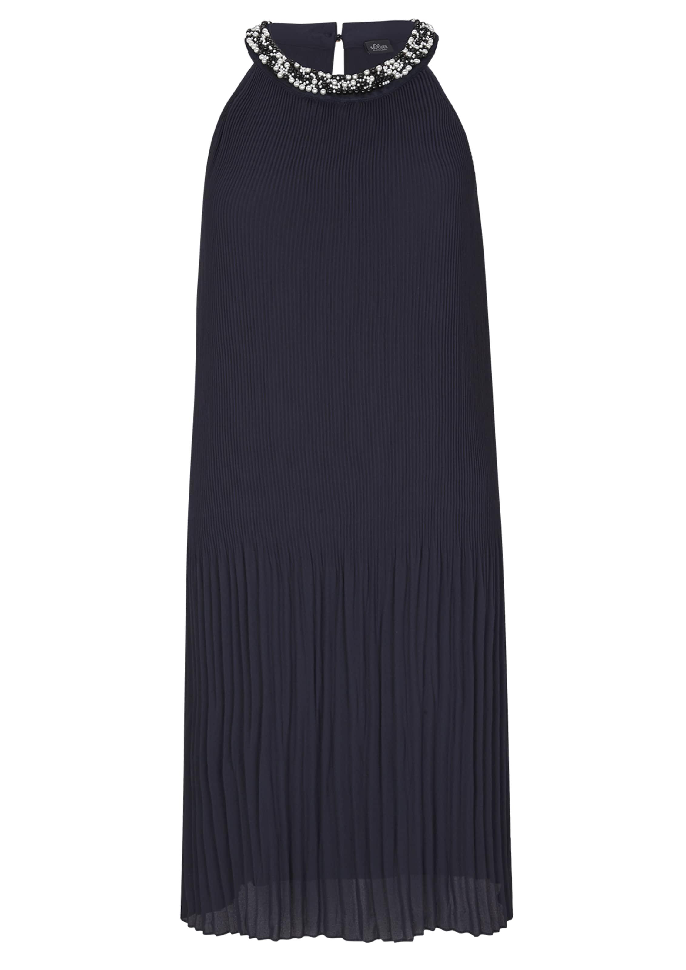 s.Oliver BLACK LABEL Koktélruhák tengerészkék színben