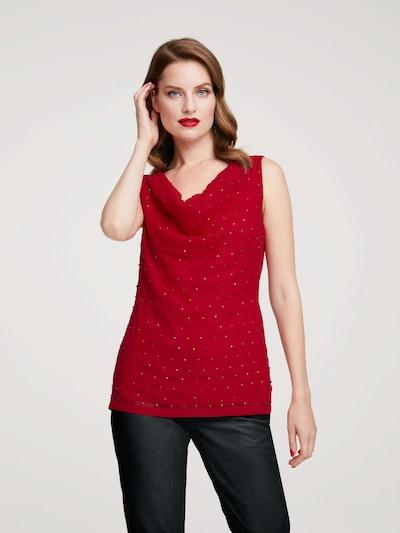 heine Bluzka w kolorze czerwonym: Widok z przodu