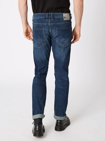 TOM TAILOR DENIM Jeans 'PIERS' in blue denim: Rückansicht