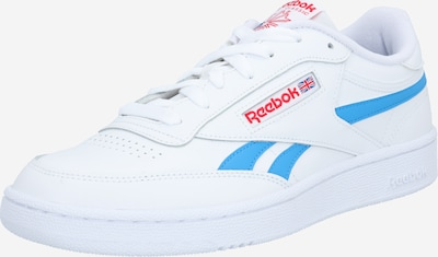 Reebok Classic Sneaker 'Club C Revenge' in hellblau / rot / weiß, Produktansicht