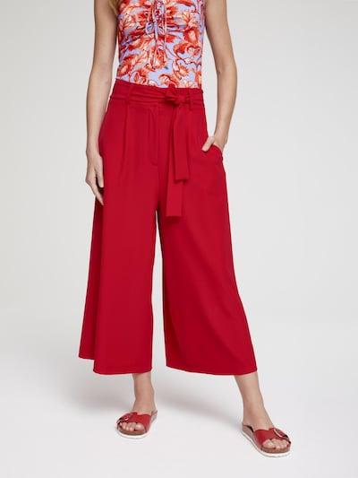 heine Kalhoty - červená: Pohled zepředu