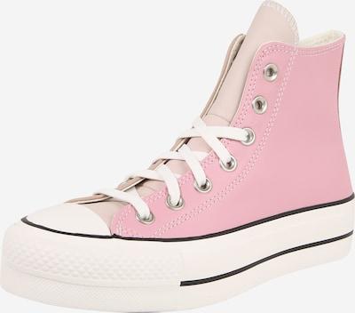 CONVERSE Augstie apavi 'Chuck Taylor All Star Lift' pieejami bēšs / rozā / balts, Preces skats