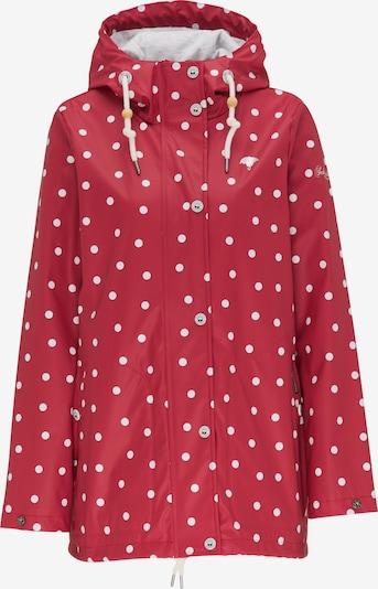 Schmuddelwedda Jacke in rot / weiß, Produktansicht