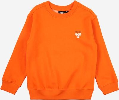 Hummel Sweatshirt in orange: Frontalansicht