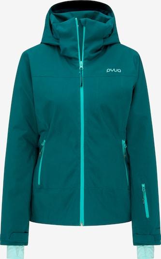 PYUA Skijacke 'Blister' in blau, Produktansicht