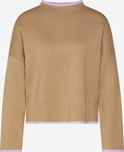 EDITED Pullover 'Darlin' in beige / lila, Produktansicht