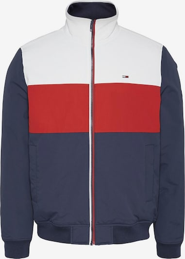 Tommy Jeans Tussenjas in de kleur Marine / Rood / Wit, Productweergave