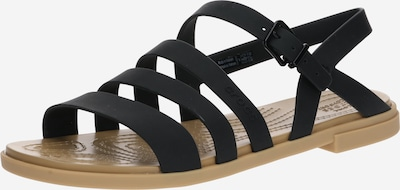 Crocs Sandale 'Tulum Sandal W' in braun / schwarz, Produktansicht