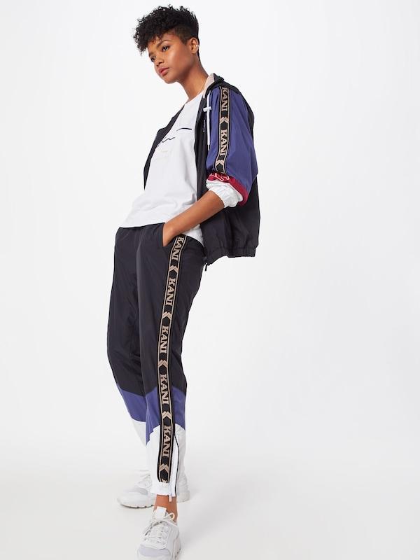 Pantalon Bleu Og Kani Block Karl MarineBlanc Trackpants' 'kk En EDI2H9