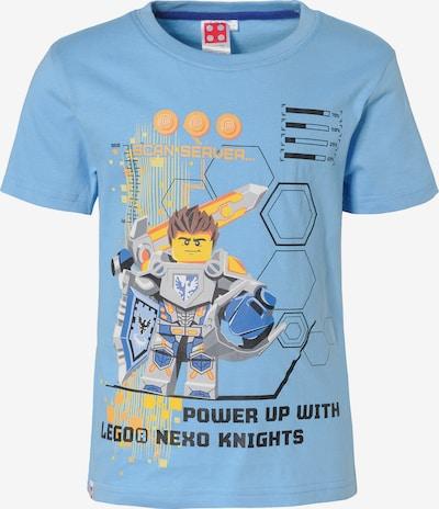 LEGO Nexo Knights T-Shirt in hellblau / gelb / grau / schwarz, Produktansicht
