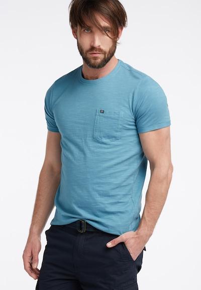 Petrol Industries T-Shirt in rauchblau: Frontalansicht