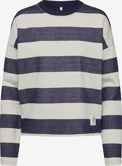 bleed clothing Sweatshirt 'Captains Sweater' in de kleur Crème / Blauw, Productweergave