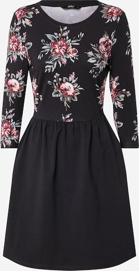 ONLY Kleid 'ONLAMBER AMY' in rosa / schwarz, Produktansicht