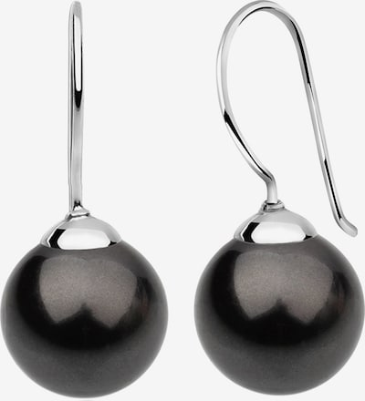 Nenalina Ohrringe in schwarz / silber, Produktansicht