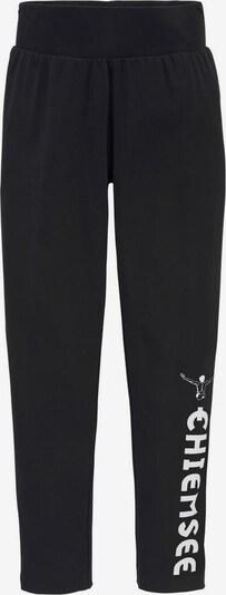 CHIEMSEE Leggings in schwarz / weiß, Produktansicht