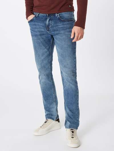 TOM TAILOR DENIM Kavbojke 'PIERS' | moder denim barva, Prikaz modela