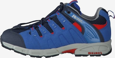 MEINDL Halbschuhe in blau / dunkelblau / rot, Produktansicht