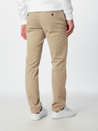 TOMMY HILFIGER Chino hlače | bež barva: Pogled od zadnje strani
