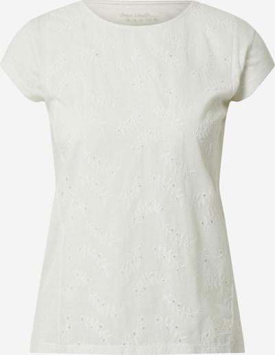 s.Oliver T-shirt en crème / blanc, Vue avec produit
