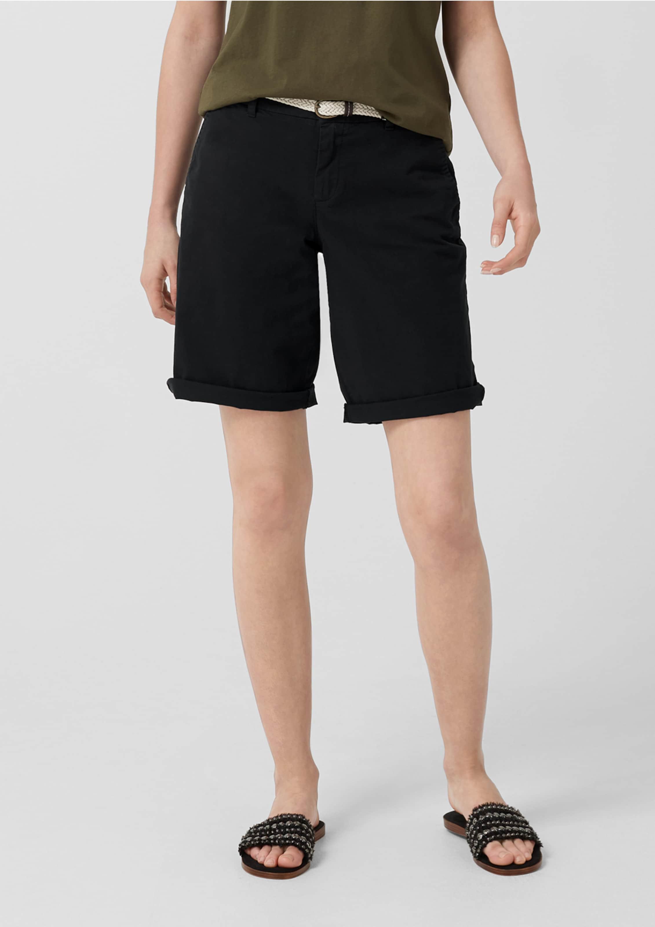 S Red Label Shorts oliver Schwarz In OiuZlwPkXT